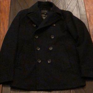 Bannana Republic Emmetex Italian made Pea Coat